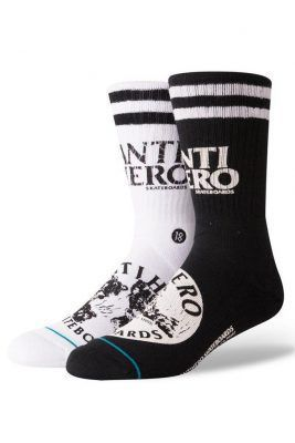 Calcetines anti hero de skateboard