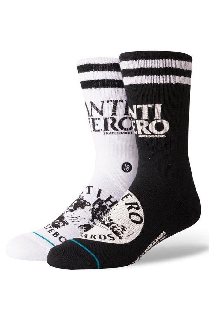 calcetines anti hero de skateboard
