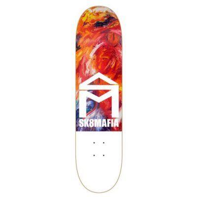 Camisetas sk8mafia de skateboard