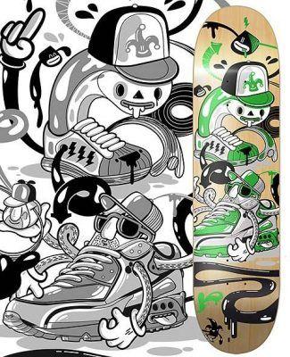 Cuadernos de skateboard