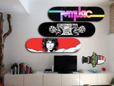 Cuadros de skateboard