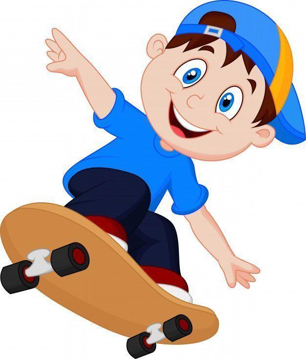 skateboards animados