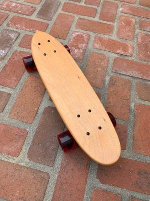 Skateboards color caoba