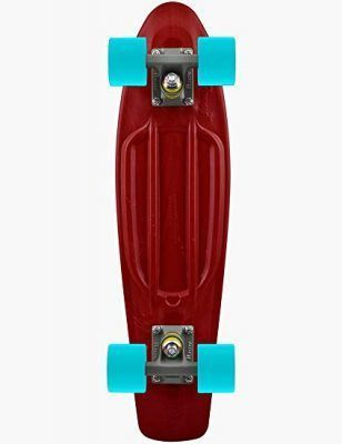 Skateboards color granate