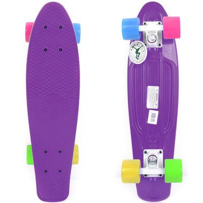 Skateboards color lila