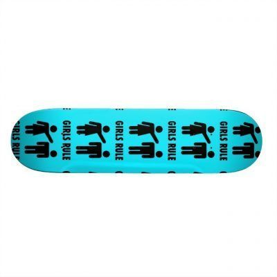 Skateboards color turquesa
