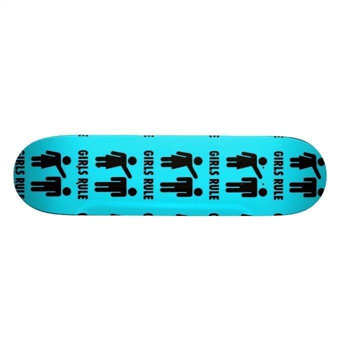 skateboards color turquesa
