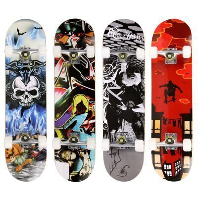 Skateboards con calaveras