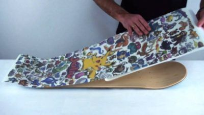 Skateboards con lija