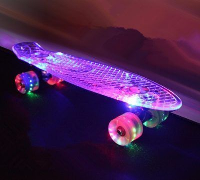Skateboards con luces
