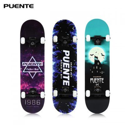 Skateboards con ruedas de longboard