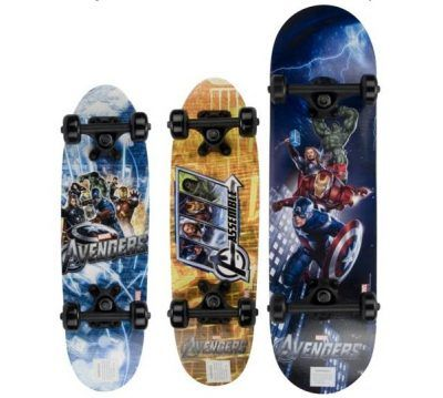 Skateboards de los avengers