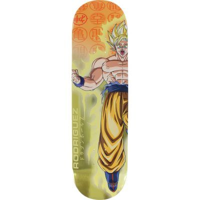 Skateboards de son goku