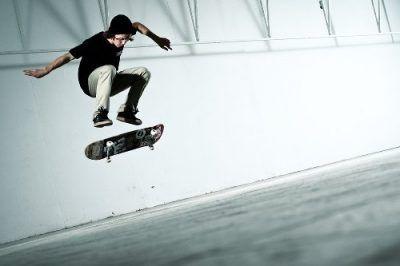 Skateboards tricks