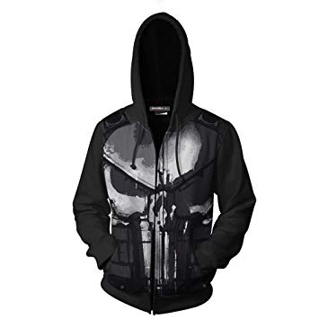 Sudaderas punisher skateboards de skateboard