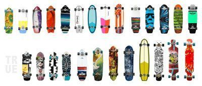 Tablas carver para skateboard