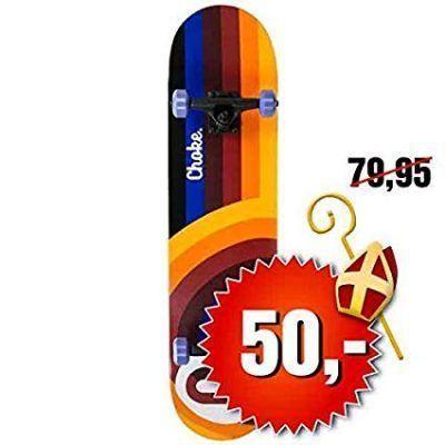 Tablas choke para skateboard