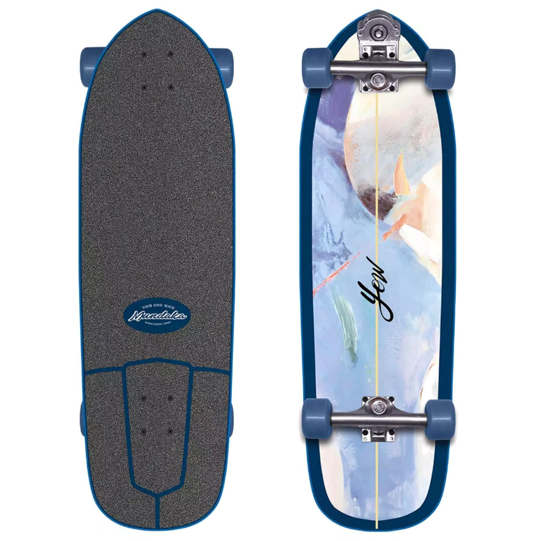 zapatillas yow de skateboard