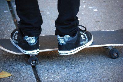 Zapatillas yq de skateboard