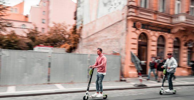 Compartir scooters Hype en Europa