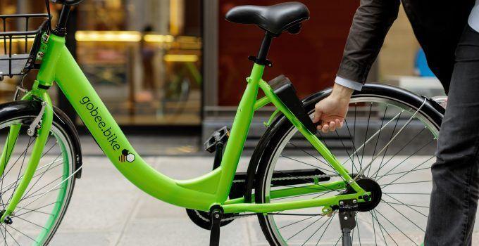 """Gobee.bike dice """"Gobee bye"""" a Francia"""