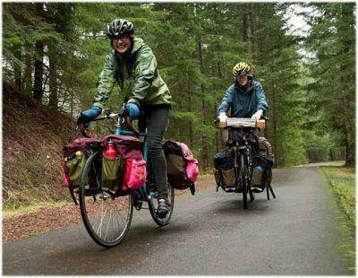 Alforjas delanteras bicicletas