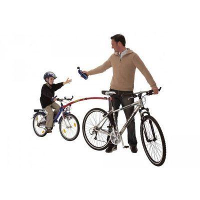 Barra remolques bicicletas niños