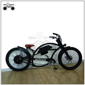 Bicicletas chopper eléctricas