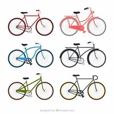 Bicicletas de colores