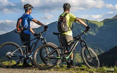 Bicicletas eléctricas de montaña doble suspension