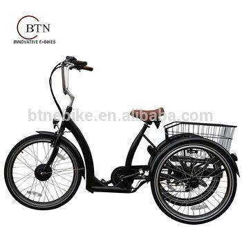 Bicicletas eléctricas tres ruedas