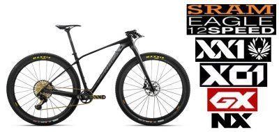 Bicicletas mtb de carbono