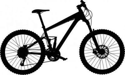 Bicicletas mtb vector