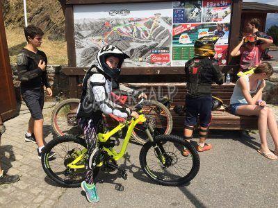 Bicicletas para niños de descenso