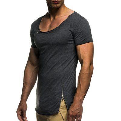 Camisetas con cremallera hombre