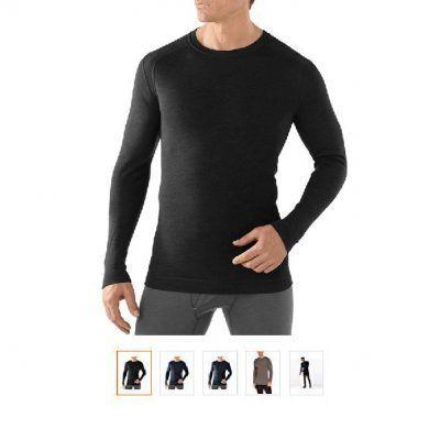 Camisetas térmicas lana merino