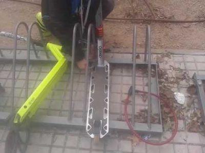 Candados patinetes eléctricos