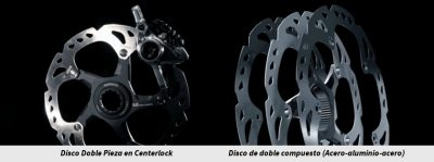 Discos center lock ligeros