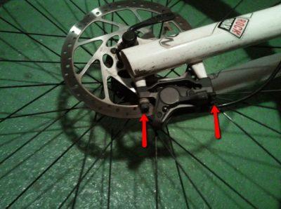 Frenos disco hidraulico bicicletas roza
