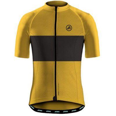 Maillot ciclismo dorado