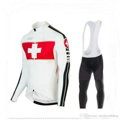 Maillot ciclismo manga larga