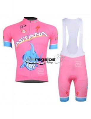 Maillot ciclismo rosa