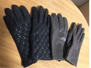 Mango guantes