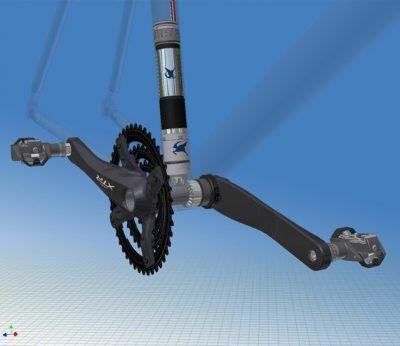 Motor pedalier bicicletas