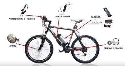 Motores electricos para bicicletas de montaña