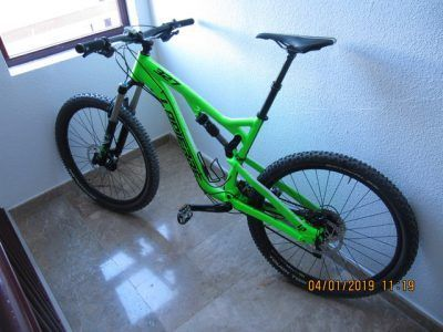 Mtb doble suspension