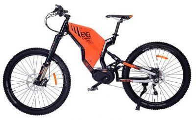 Mtb electrica doble suspension