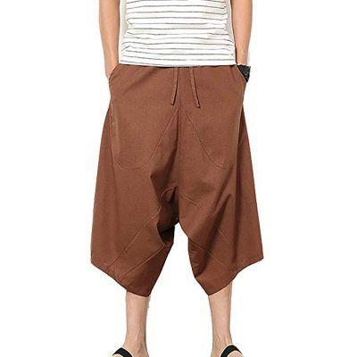 Pantalones cortos anchos hombre