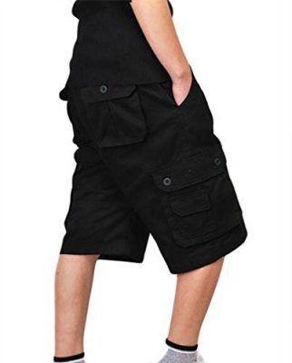 Pantalones cortos cargo hombre