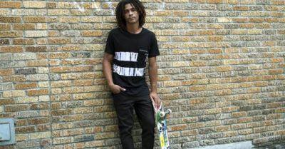 Pantalones roces de skateboard